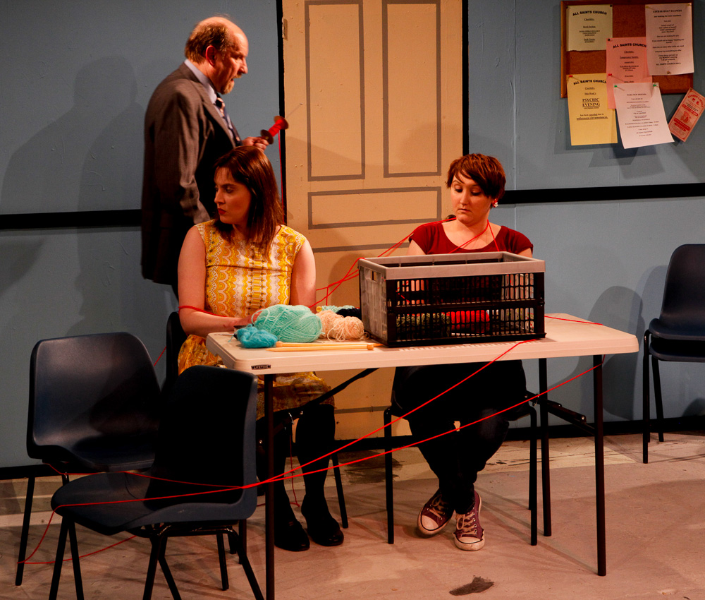 Hall Little Theatre production of Agatha Crusty and the Village Hall Murders. Photo by Roy Palmer Digital Images