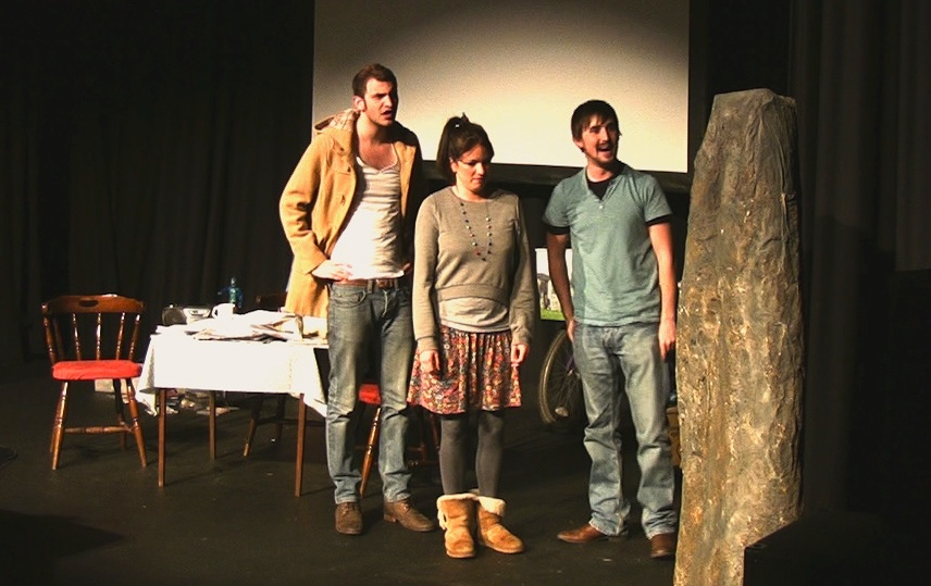 The rewritten 'Bringing Back the Bluestones' performed by Fluellen Theatre Company played to full houses in a recent run in Pembrokeshire.